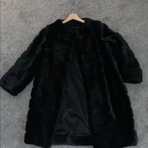Kate Spade Faux Fur Jacket